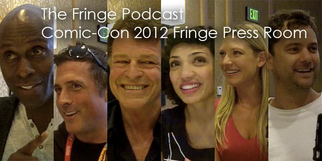 TFP Comic-Con Fringe Press Room Podcast