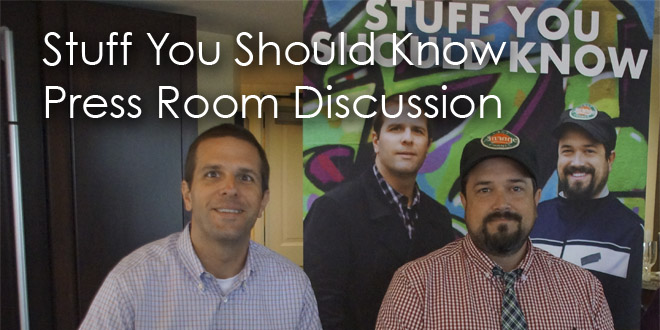 Stuff You Should Know Press Room