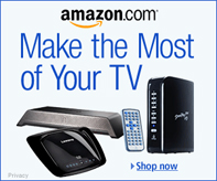 Get all your entertainment needs from Amazon
