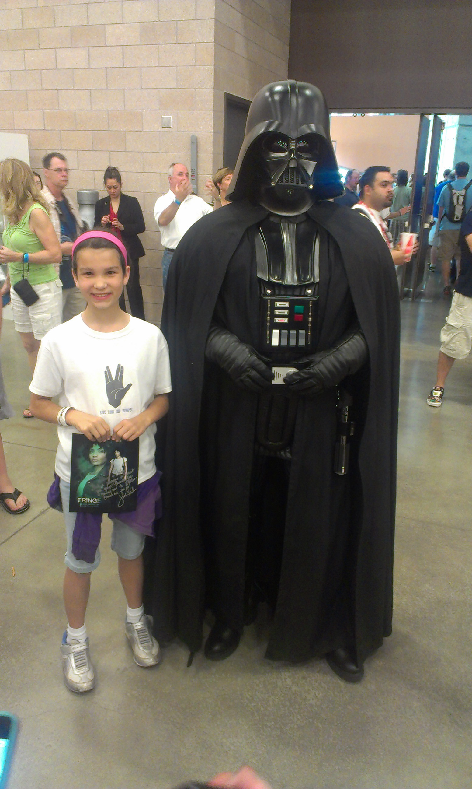 Addi and a great Darth Vader costume.