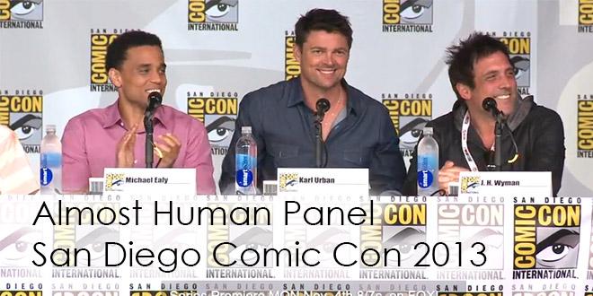 Almost Human Comic Con 2013 Panel