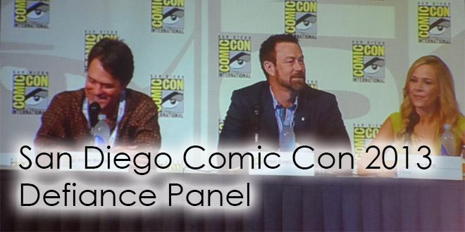 San Diego Comic Con 2013 Defiance Panel
