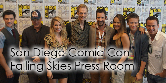 San Diego Comic Con 2013 Falling Skies Press Room