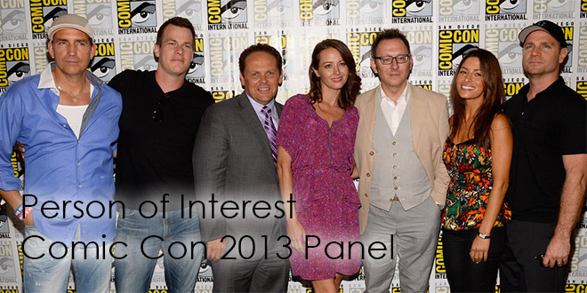 Person of Interest Comic Con 2013 Panel