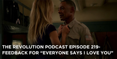 The Revolution Podcast Episode 219-Feedback For Everyone Says I Love You