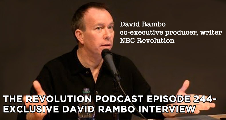 TRP 244-The Revolution Podcast Episode 244-Exclusive David Rambo Interview
