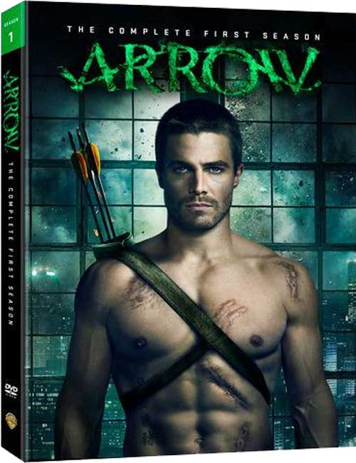Arrow on DVD and Bluray