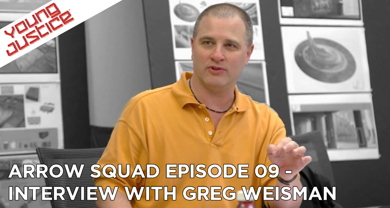 AS09 – Interview With Greg Weisman of Young Justice