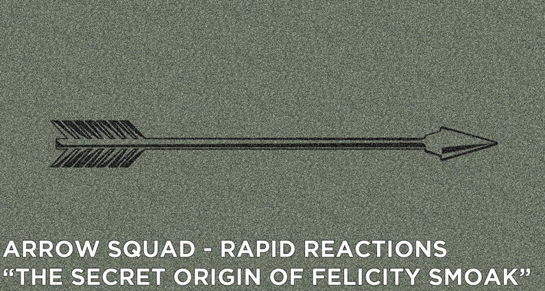 "AS 27 – Rapid Reactions ""Felicity"""