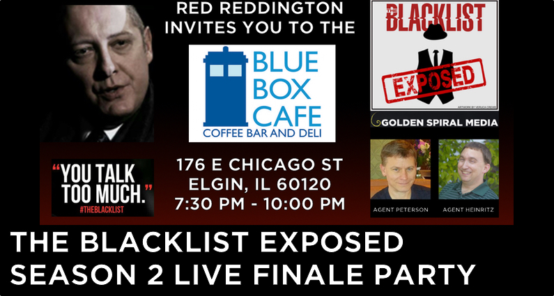 The Blacklist Season 2 Finale Live Viewing Party
