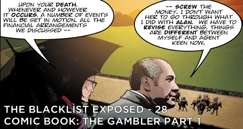 BLE28 – S2 – Comic Book Issue #1 – The Gambler Part 1