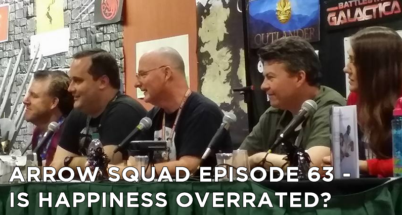 AS 63 – Is Happiness Overrated? An Arrow Fan Panel at DragonCon