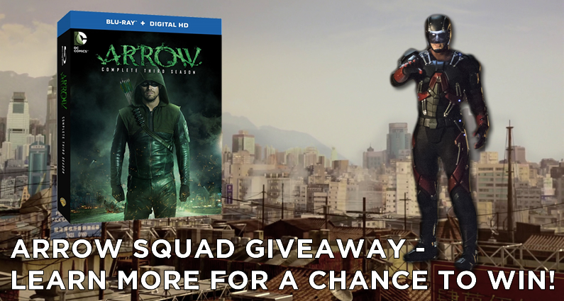 AS Contest – Win A Season Of Arrow On Blu-ray And DVD