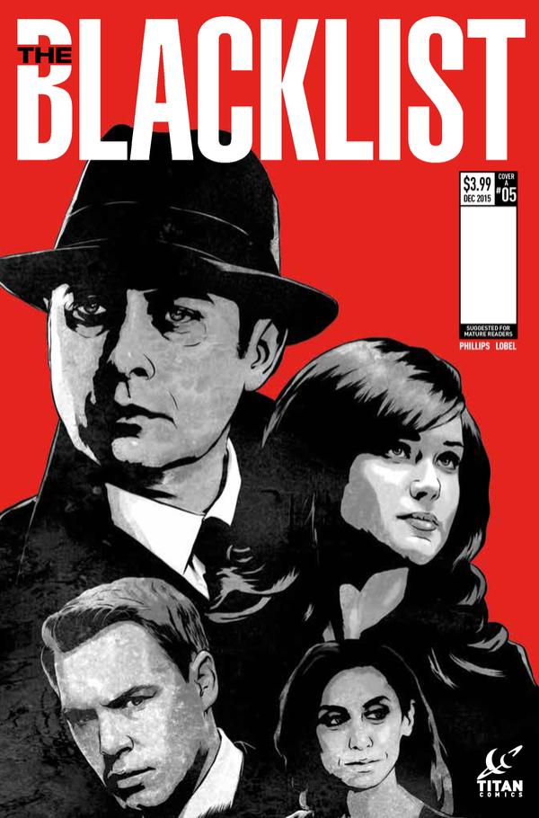 The Blacklist Comic Issue 5 Cover