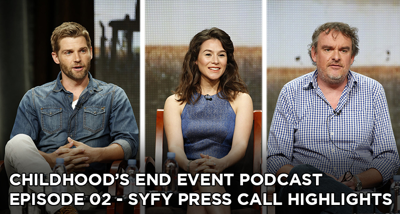 CE02 – Syfy Press Call Highlights