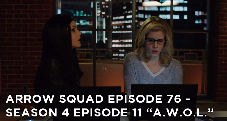 AS 76 – S4E11 – A.W.O.L. Review