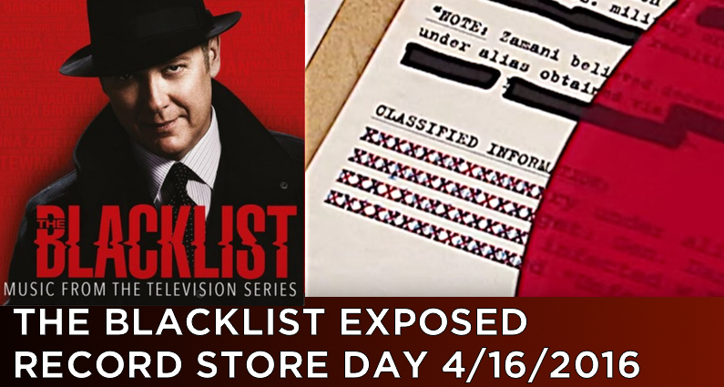 The Blacklist LP – Limited Edition Red Vinyl – Record Store Day