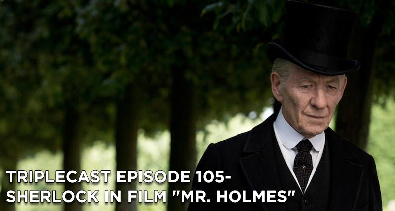 "TC105 – Sherlock in Film ""Mr. Holmes"""