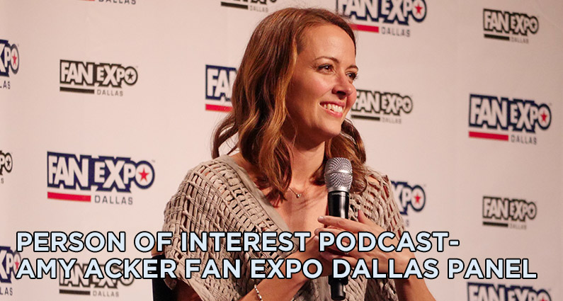 POI Amy Acker Dallas Fan Expo Panel