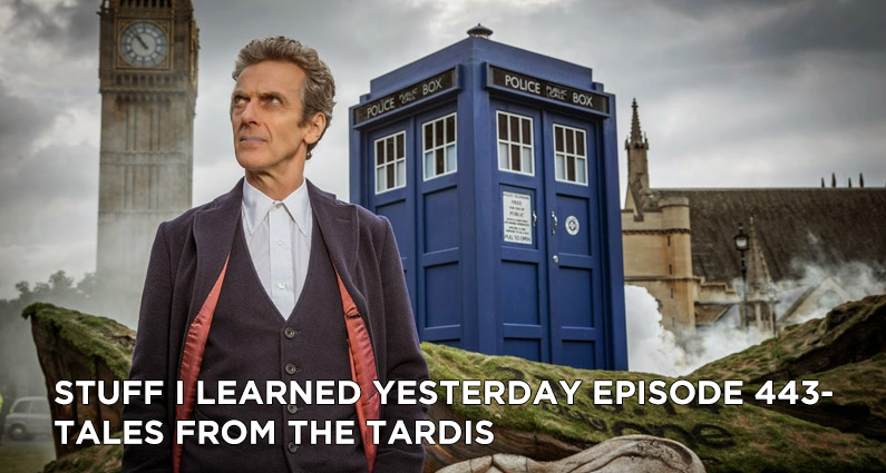 SILY Episode 443- Tales From the TARDIS