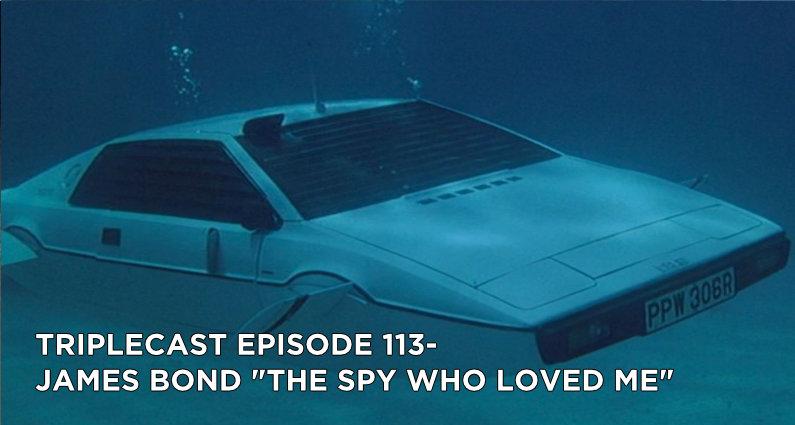 "TC113 – James Bond ""The Spy Who Loved Me"""