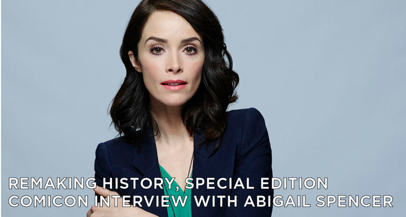 RMSE02 – Special edition – ComicCon Interview With Abigail Spencer