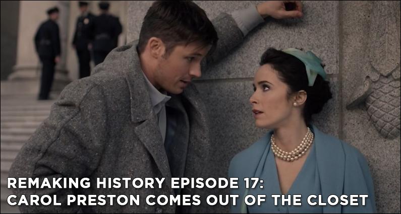 RM16 – S1E16 – Carol Preston Comes Out of the Closet