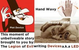 Legion of Evil writing Devices