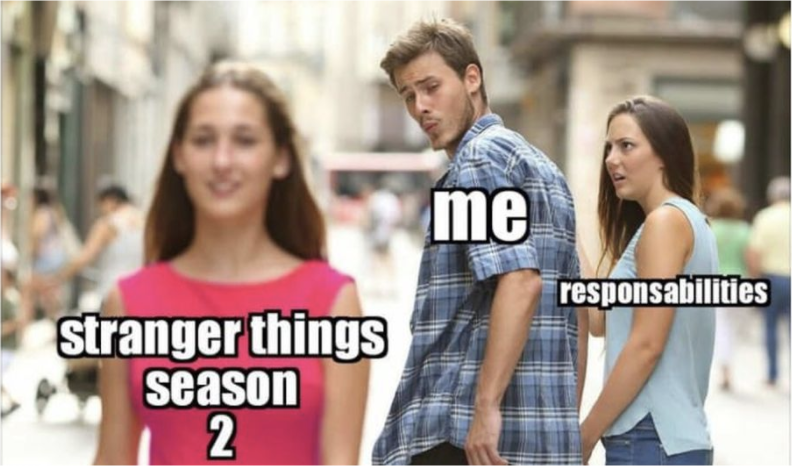 Stranger Things Season 2 Responsibilities meme
