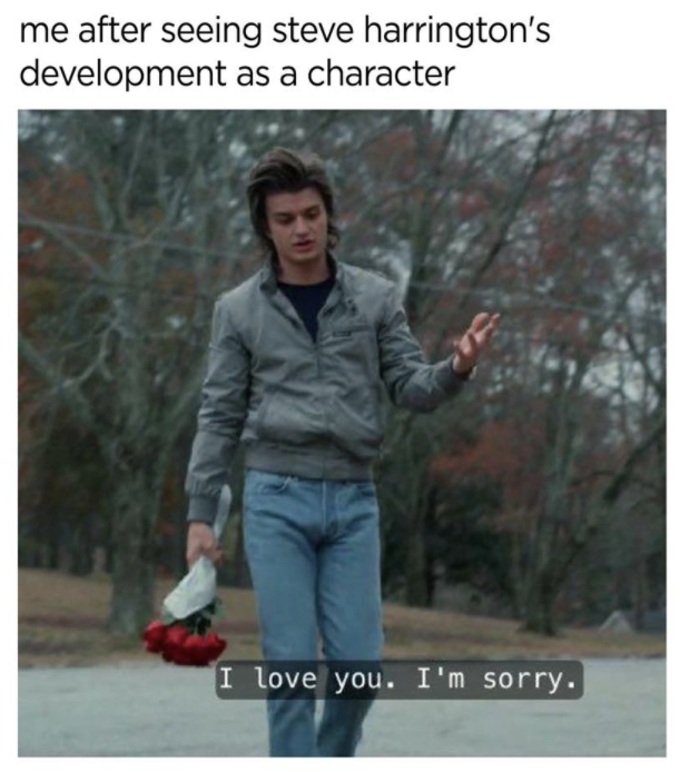 Steve Harrington character growth