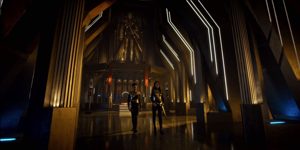 Fred's STD S1E12 beautiful lighting screen shots (24:00) - Imperial hall, Georgiou & Burnham