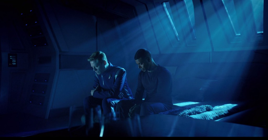 Fred's STD S1E12 beautiful lighting screen shots (30:13) - Stamets & Culber