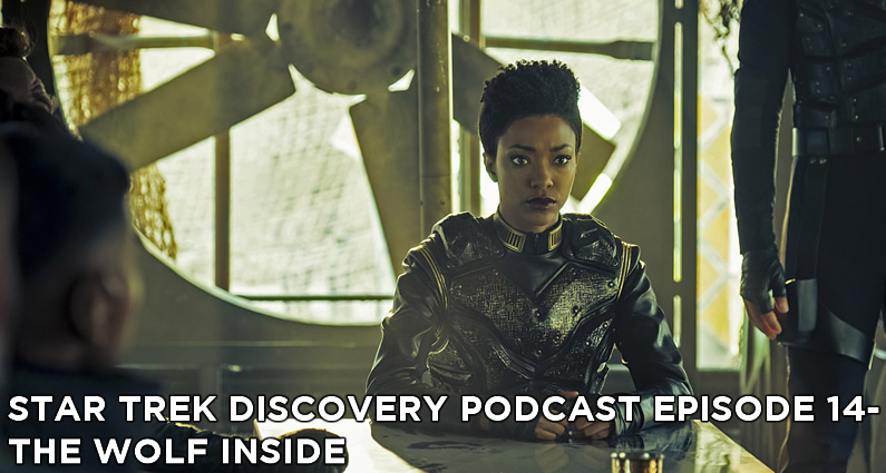 STDP 014 – Star Trek Discovery – S1E11 – The Wolf Inside