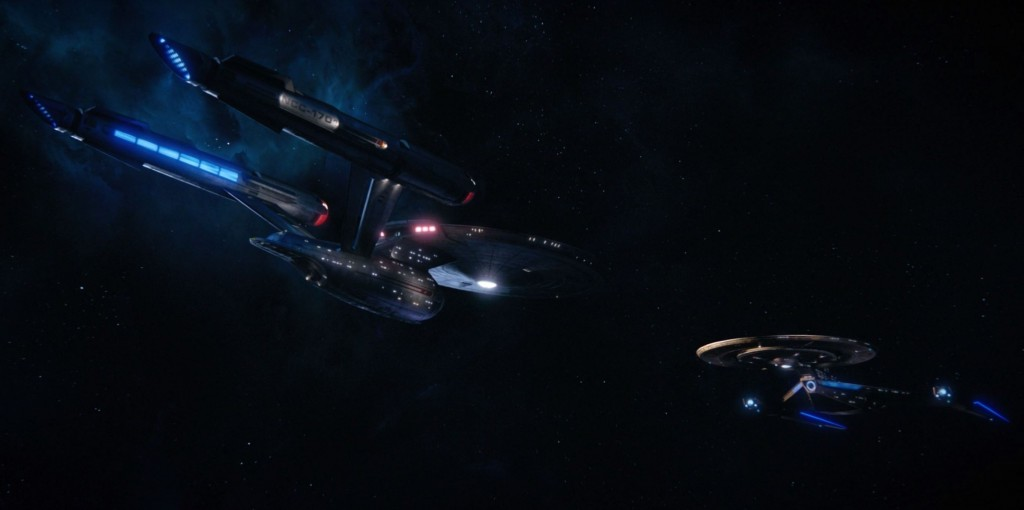 Fred's S1E15 beautiful lighting screen shots (44:07) - NCC-1701 & NCC-1031