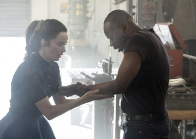Abigail Spencer as Lucy Preston, Malcolm Barrett as Rufus Carlin