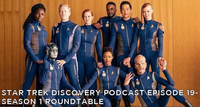 STDP 019 – Star Trek Discovery – Season 1 Roundtable