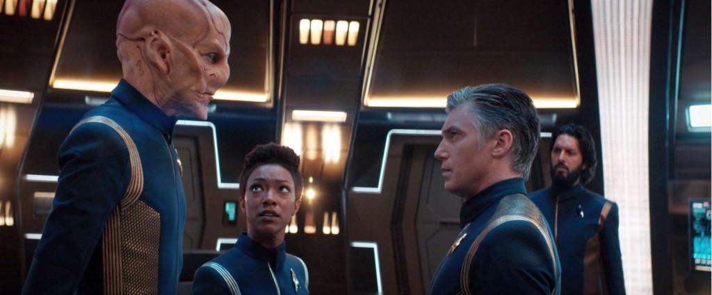 STDP 031 - Star Trek Discovery S2E6 (13:46) - Burnham de-escalating Saru's outburst