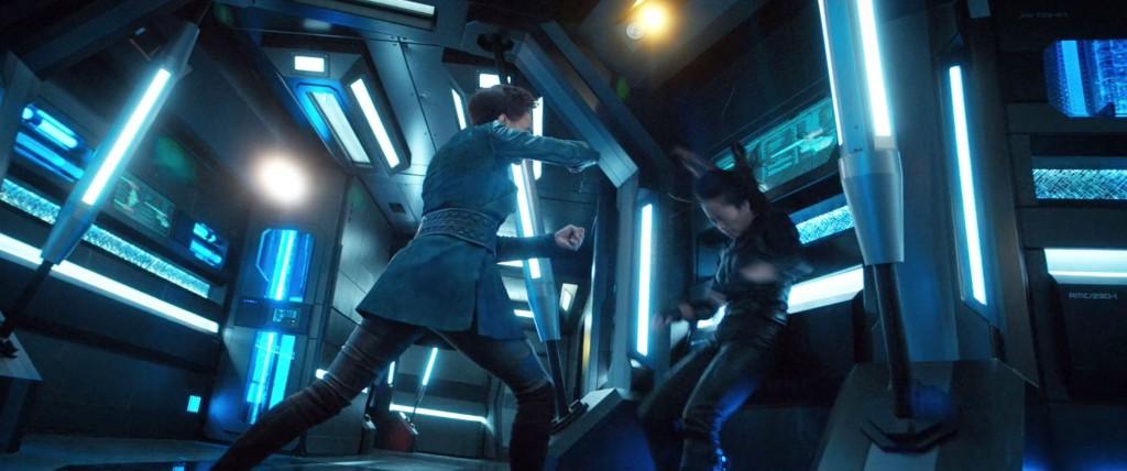 STDP 032 - Star Trek: Discovery S2E7 (32:31) - Burnham & Georgiou fighting.