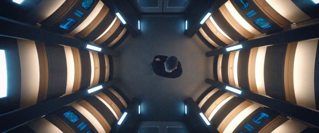 STDP 033 - Star Trek Discovery S2E8 (31:06) - Culber alone in the turbolift.