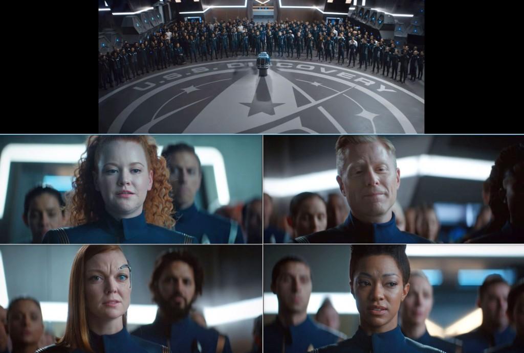 STDP 035 - Star Trek Discovery S2E10 (02:38-03:59) - Airiam's memorial (compilation).