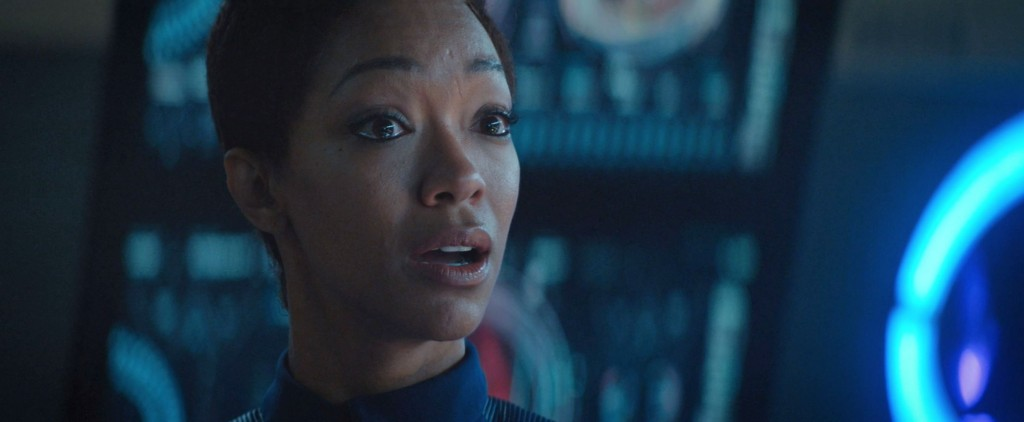 STDP 035 - Star Trek Discovery S2E10 (23:38) - Burnham starting to believe what Leland is telling her.
