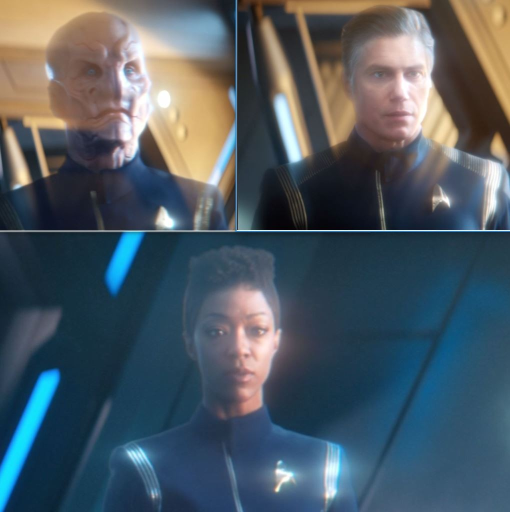 STDP 036 - Star Trek Discovery S2E11 (06:27, 06:15 & 05:55) - The AI impersonating Burnham, Pike & Saru.