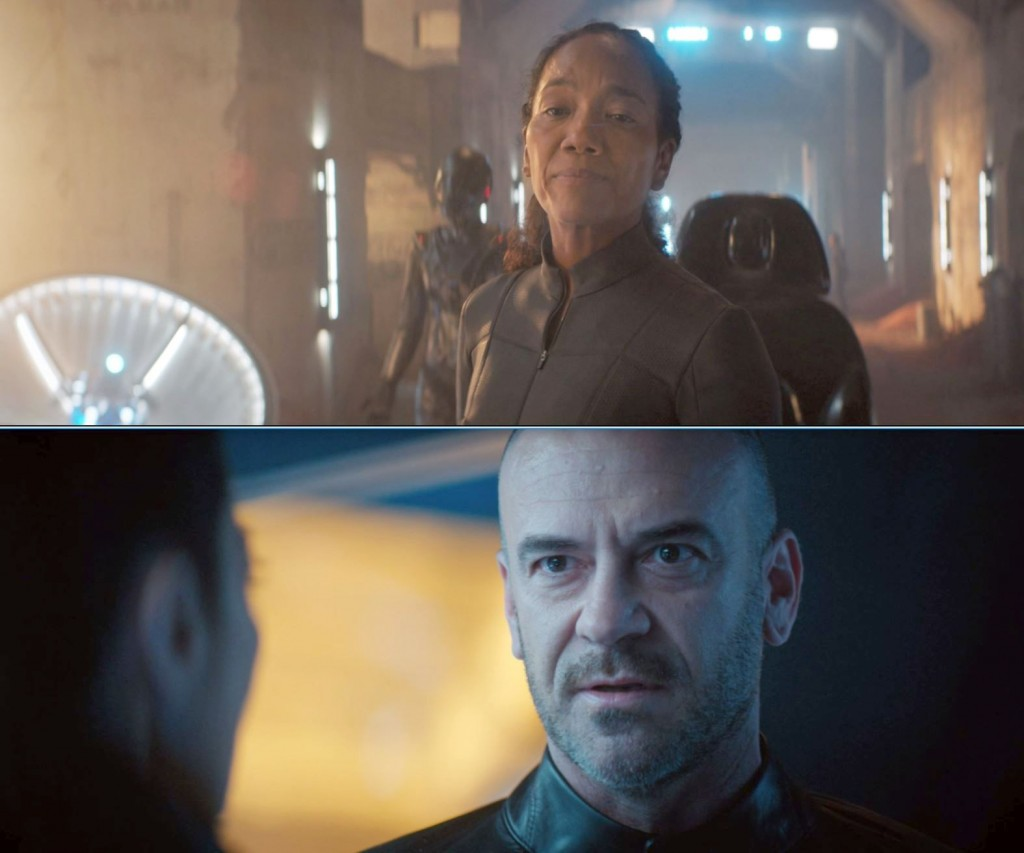 STDP 036 - Star Trek Discovery S2E11 (35:02 & 35:06) - It considers me VERSUS it poses an unacceptable risk to the larger mission.
