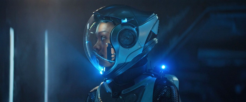 STDP 034 - Star Trek Discovery S2E9 (40:16) - Burnham in a space suit.