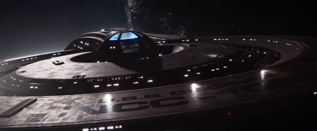 STDP 037 - Star Trek Discovery S2E12 (15:00) - The USS Discovery over Boreth.
