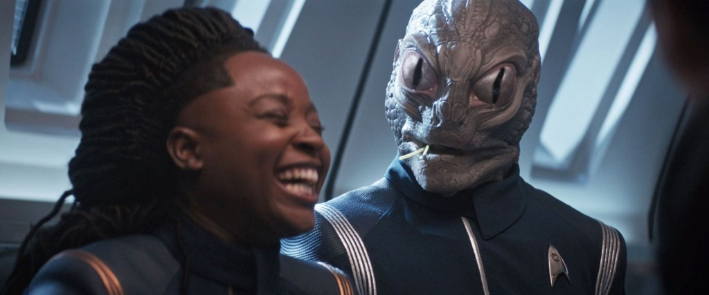 STDP 037 - Star Trek Discovery S2E12 (15:07) - Mess hall jokes.