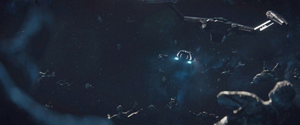 STDP 037 - Star Trek Discovery S2E12 (20:21) - The dead frozen crew of the Section 31 ship floating in space.