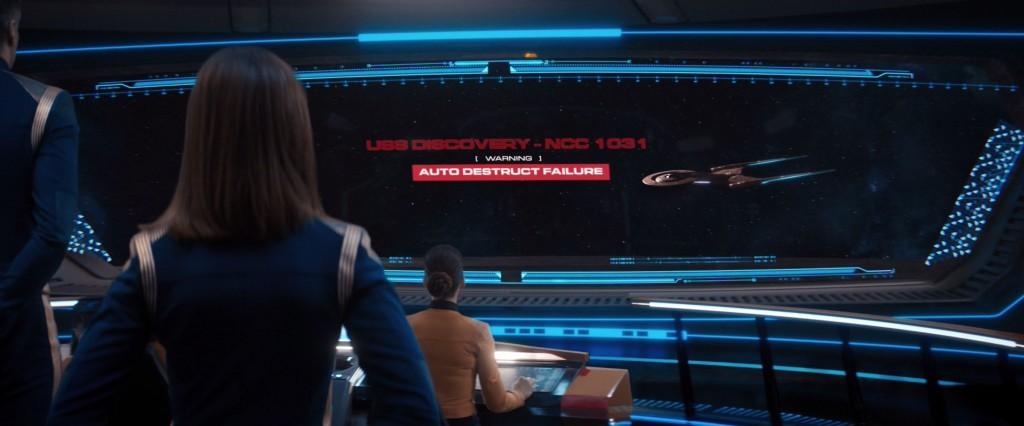 STDP 038 - Star Trek Discovery S2E13 (09:45) - Autodestruct failure.