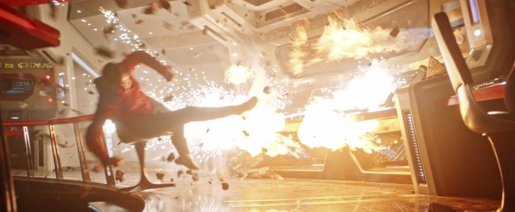 STDP 040 - Star Trek Discovery S2E14 Such Sweet Sorrow, Part 2 (23:00) - U.S.S. Enterprise bridge explosions.