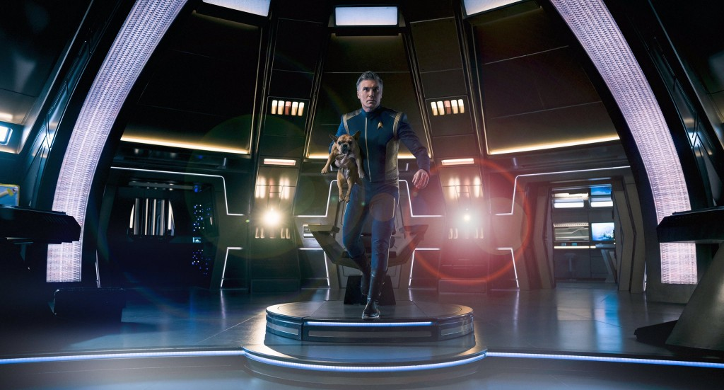 STDP 040 - Star Trek Discovery S2E14 (24:01) - Anson Mount & his dog.